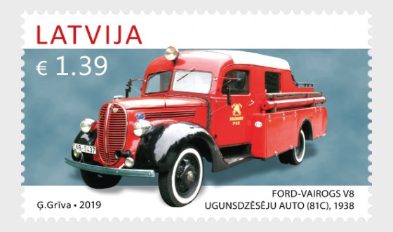 History of Automobiles - Ford Vairogs V8 (81C) - Set