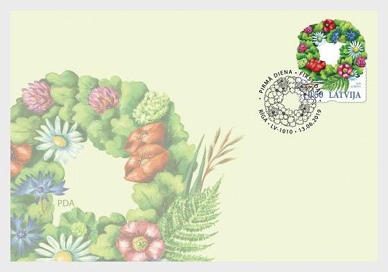 Ligo Wreath - First Day Cover