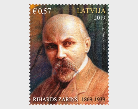 150th Anniversary of Graphic Artist - Rihards Zarins - Set