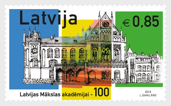 100th Anniversary of the Art Academy of Latvia - Set