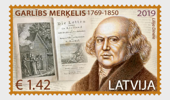 250th Anniversary of Garlieb Merkel - Set