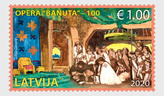 The First Latvian Opera - Banuta - Set