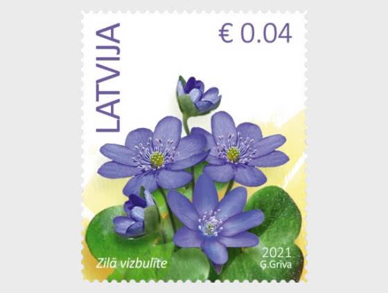 Flowers (Reprint) 2021 - Blue Anemone - Set