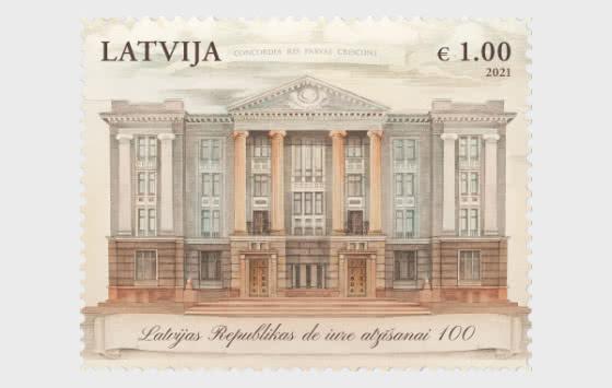 Centenario Del Riconoscimento Dell'indipendenza De Iure Della Lettonia - Serie