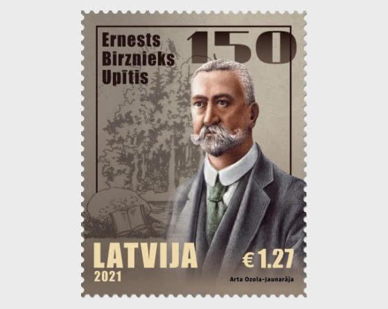 Escritora Ernests Birznieks-Upītis - 150 - Series