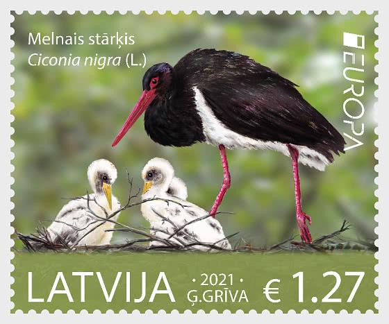 Europa 2021 - Fauna Nacional En Peligro De Extinción - Series