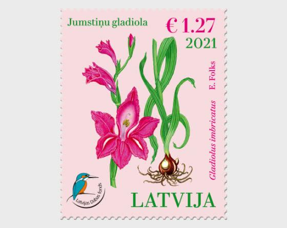 The Latvian Fund for Nature – Shingled Gladiolus - Set