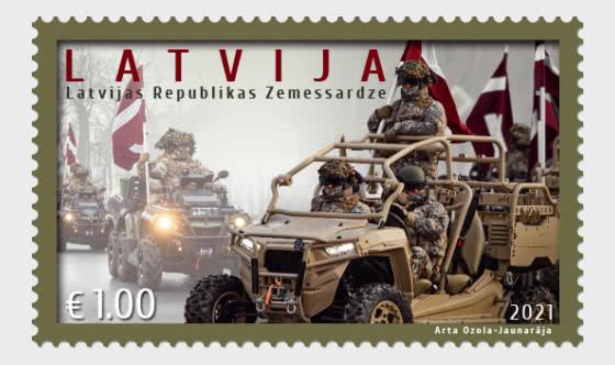 拉脱维亚国民警卫队 - 套票