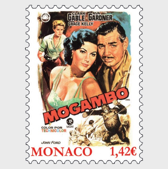 Grace Kelly Movies - Mogambo - Set