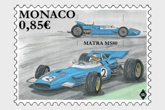 Legendary Race Cars- Matra MS80 - Set