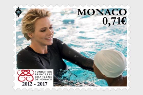 5th Anniversary of the Princess Charlene of Monaco Foundation - Set CTO