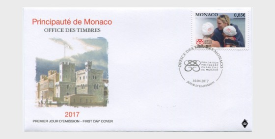 5th Anniversary of the Princess Charlene of Monaco Foundation - First Day Cover