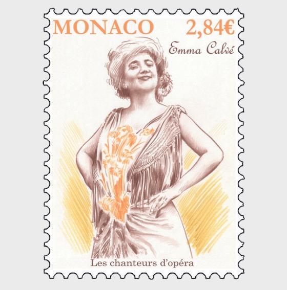 Opera Singers - Emma Calve - (Set Mint) - Set