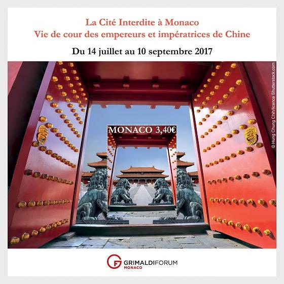 The Forbidden City in Monaco - (M/S Mint) - Miniature Sheet