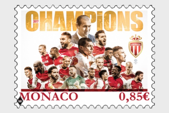 Monaco Football Club AS - (Stamp Mint) - Set