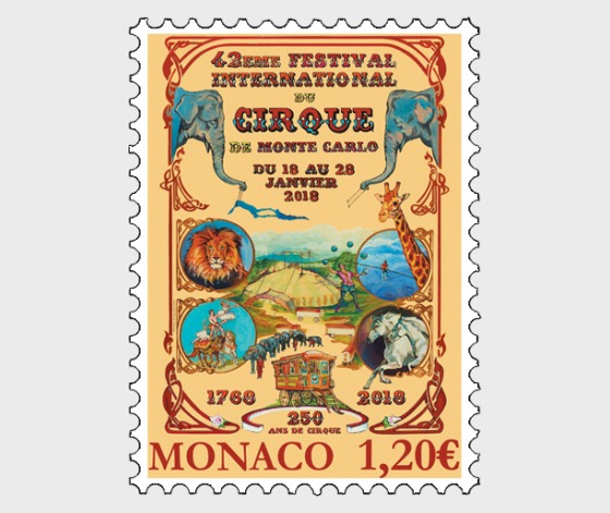 Monte Carlo International Circus Festival 2018 - (Set Mint) - Set