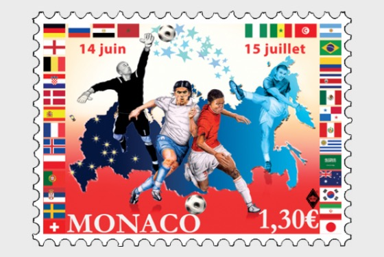 Football in Russia - (Stamp Mint) - Set