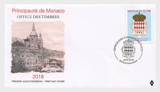 150th Anniversary of the Saint Roman Feast Committee - First Day Cover