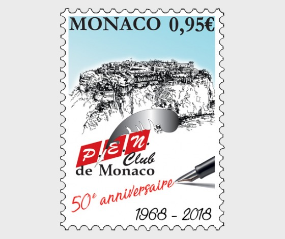 50 Years of the P.E.N. Club of Monaco - (Set Mint) - Set
