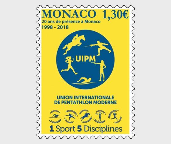 20 Years of the International Union of Modern Pentathlon in Monaco - (Set Mint) - Set