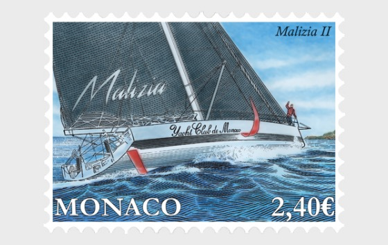 Yachting - Malizia II - Set