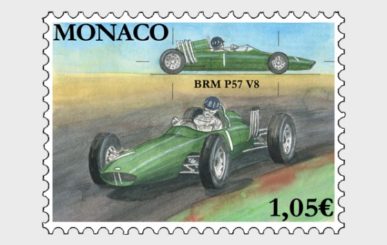 Legendary Race Cars - BRM P57 - Mint - Set