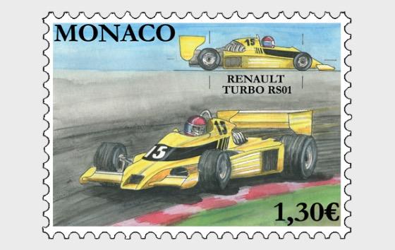 Legendary Race Cars - Renault Turbo RS01 - Mint - Set