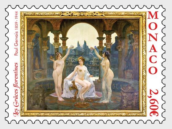 Nudes in Art - Les Graces Florentines - Set Mint - Set
