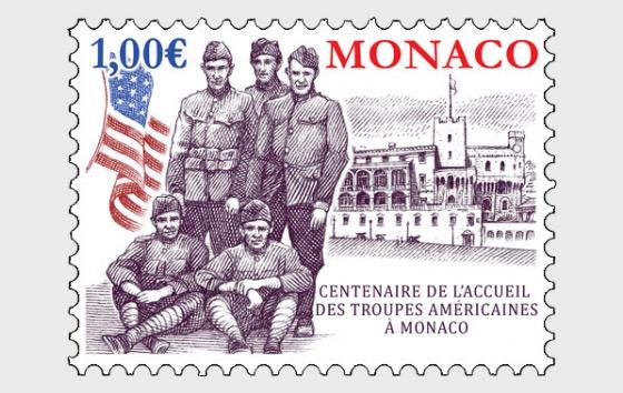 Centenaire de la Convalescence des Troupes Américaines à Monaco - Séries