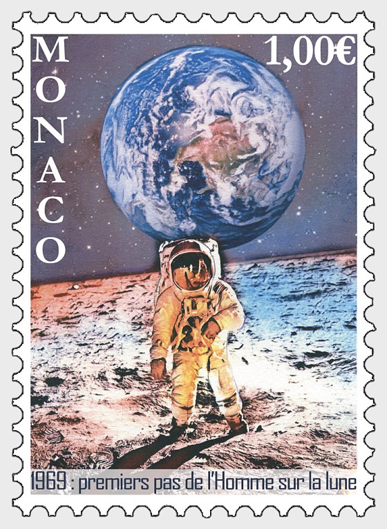 50th Anniversary of the Moon Landings - Set Mint - Set