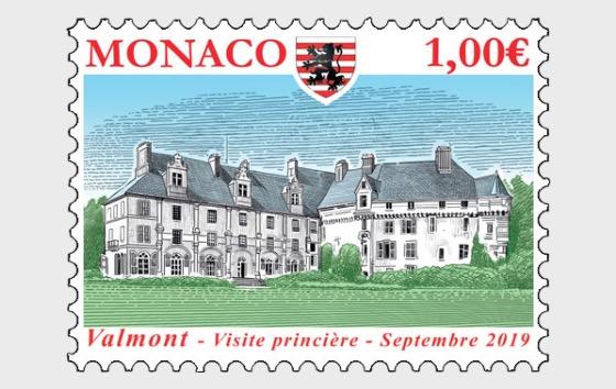 Ancient Grimaldi Strongholds - Valmont - Set Mint - Set
