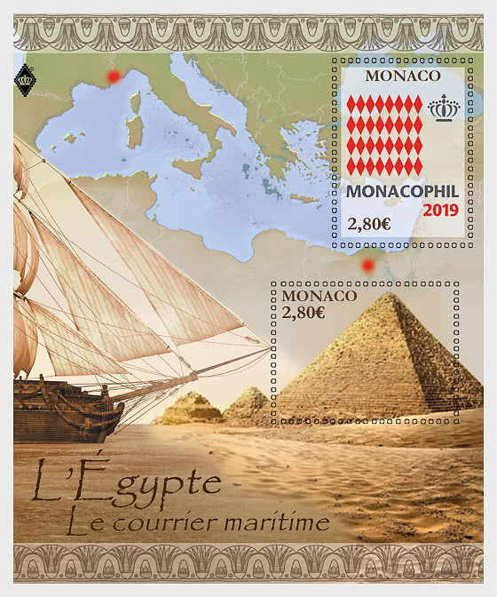 Monacophil 2019 - Mint - Miniature Sheet
