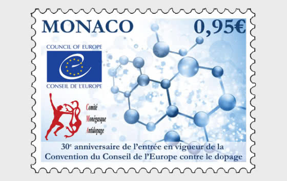 30th Ann of the Entry Into Force of the Council of Europe Anti-Doping Convention - Mint - Set