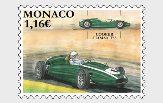 Legendary Race Cars - Cooper Climax T53 - Mint - Set