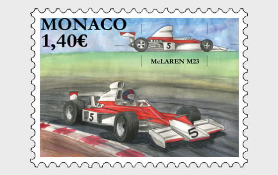 Legendary Race Cars - MC Laren M23 - Mint - Set