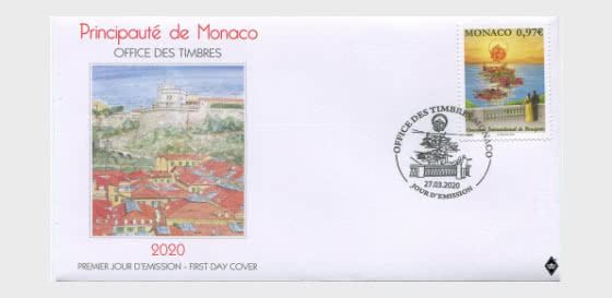 International Bouquet Competition - First Day Cover