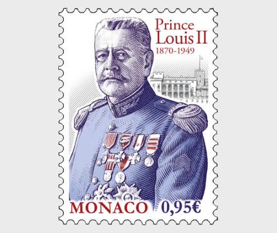 150th Anniversary of the Birth of Prince Louis II - Set CTO - Set CTO