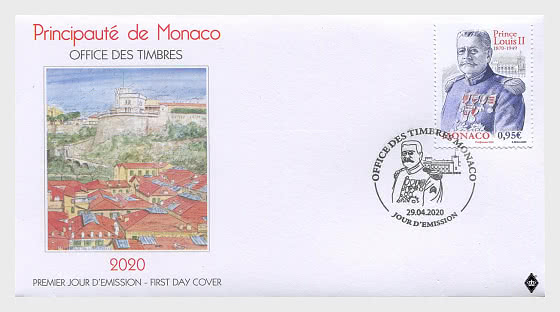 150th Anniversary of the Birth of Prince Louis II - First Day Cover