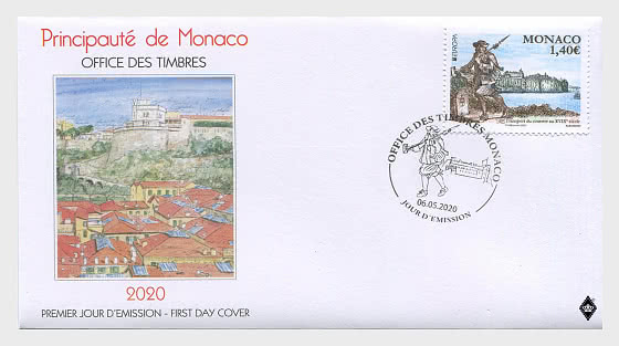 Europa 2020 - Ancient Postal Routes - First Day Cover