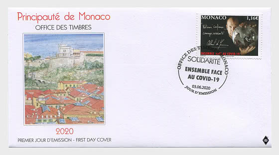 Solidarity COVID- 19 - First Day Cover