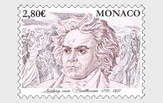250th Anniversary of the Birth of Ludwig Van Beethoven - Mint - Set