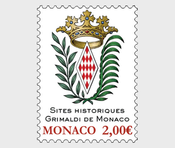 Former Strongholds Of The Grimaldis Of Monaco - Mint - Set