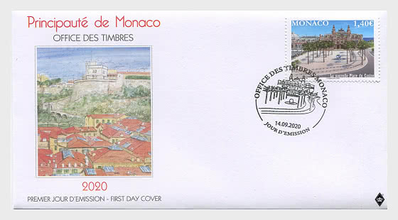 The New Place Du Casino - First Day Cover