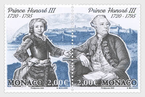300th Anniversary Of The Birth Of Honore III - Mint - Set