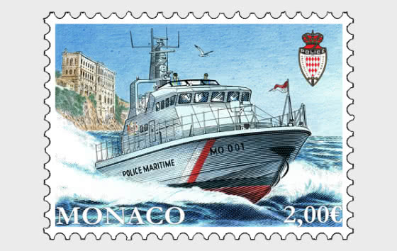 New Boat For The Monaco's Marine And Airport Police Division - Mint - Set