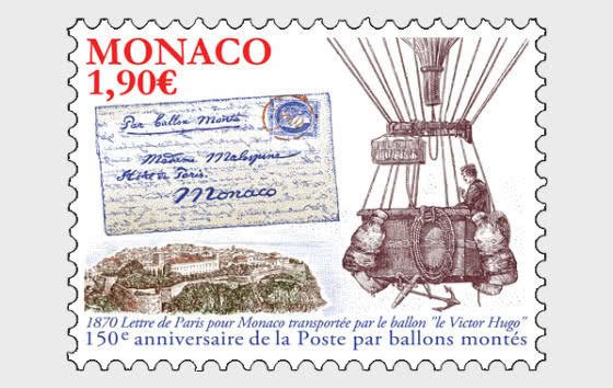 150th Anniversary Of The Ballons Montes - Mint - Set