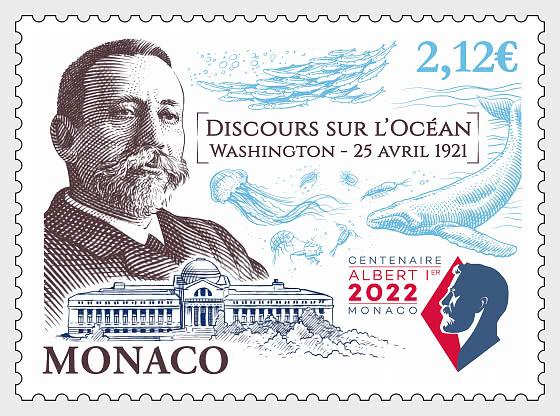 Centenary Of The Speech On The Ocean From Prince Albert I - Mint - Set