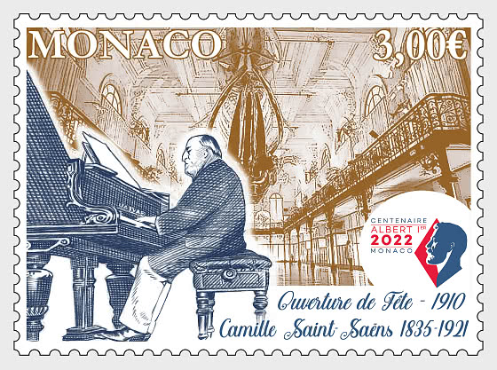 Centenary Of The Death Of Camille Saint-Saens - Mint - Set