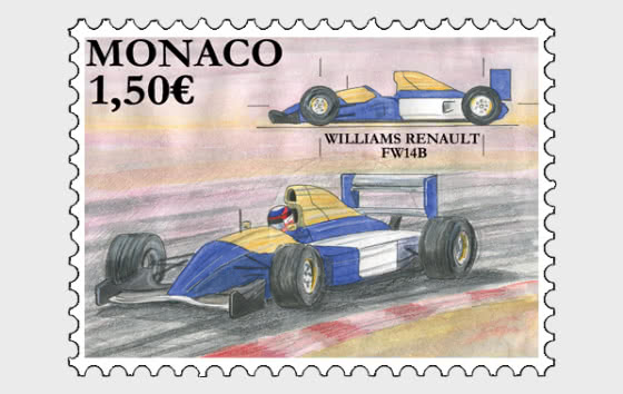 Legendary Race Cars – Williams Renault FW14B - Mint - Set