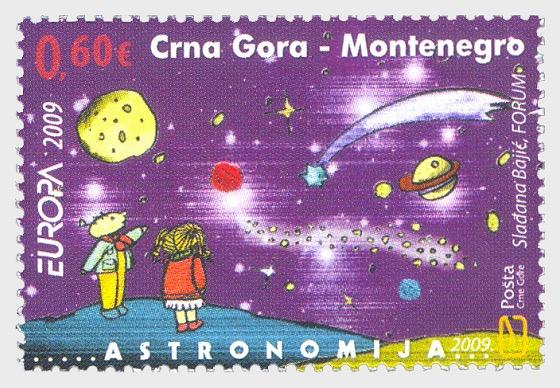 Europa 2009 - Astronomia - Serie